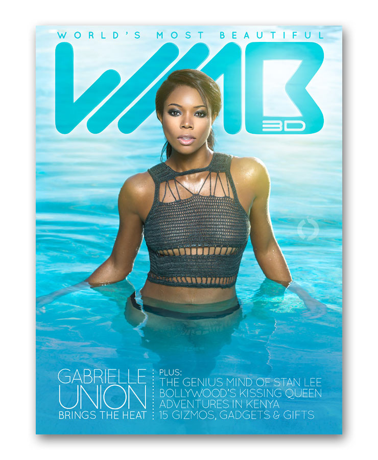 WMB Issue #2 - Gabrielle Union
