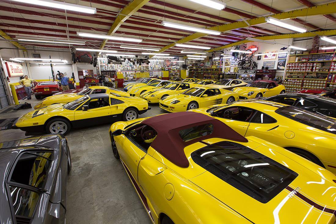 Forza Magazine - The Bachman Ferrari Collection
